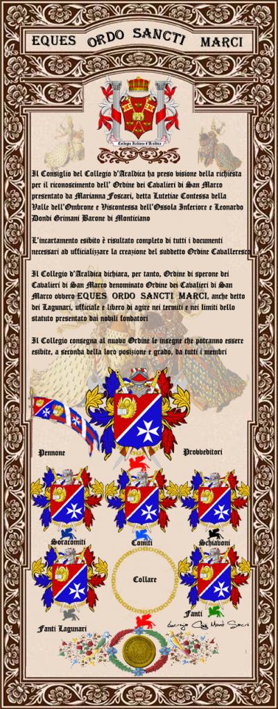 Registos do Colégio Heráldico Italiano Cavalierisanmarcocopia-2