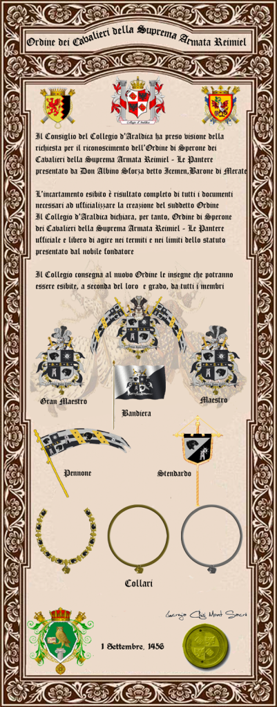 Registos do Colégio Heráldico Italiano Perga1