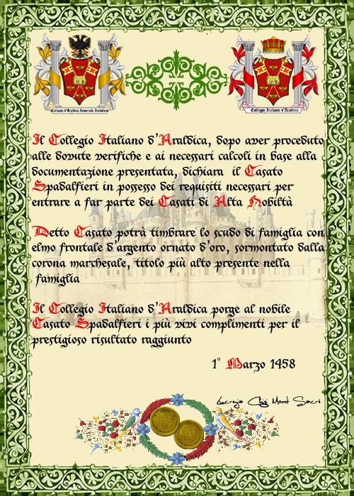 Registos do Colégio Heráldico Italiano Spadalfiericopia-1