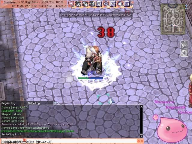 Imagenes mas imagenes y mas imagenes de si vida en el ro ScreenNocturneRo095