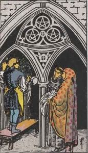 The Group (Three of Pentacles) Pents03-1