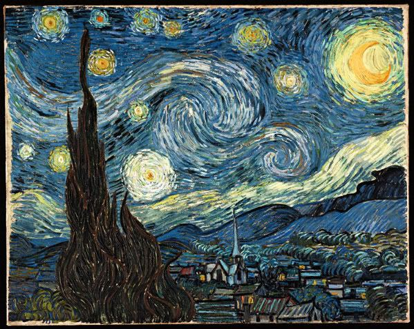 Starry Night VanGoh-1