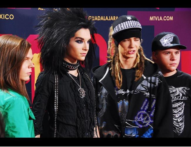 Tokio Hotel enLos Premios 001 xDD Tom you're HOT!! Pictures, Images and Photos