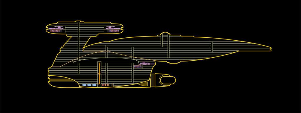 Nebula class LCARS - Terminé 02