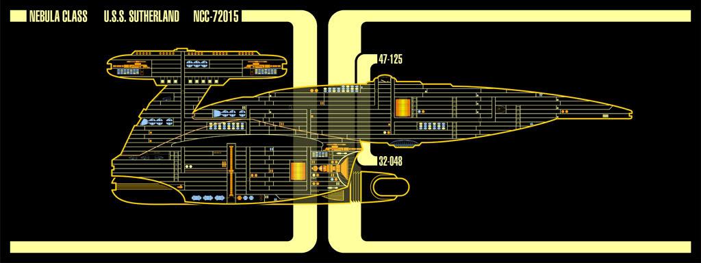 Nebula class LCARS - Terminé 03