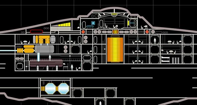 Enterprise NX-01 LCARS MSD Enterprise-NX-07