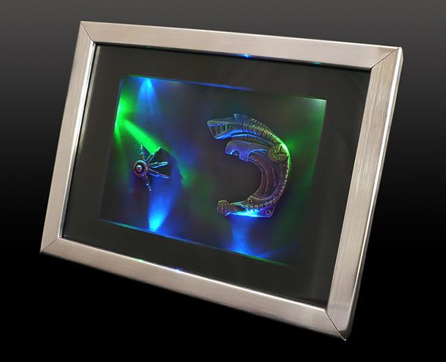 Cadre lumineux Implants de Seven - Star Trek Voyager Cadre-7of9-1