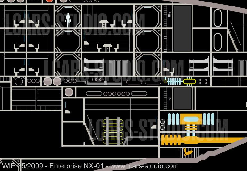 Enterprise NX-01 LCARS MSD Wip05-09-06