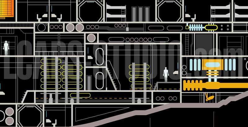 Enterprise NX-01 LCARS MSD Wip08-09-02
