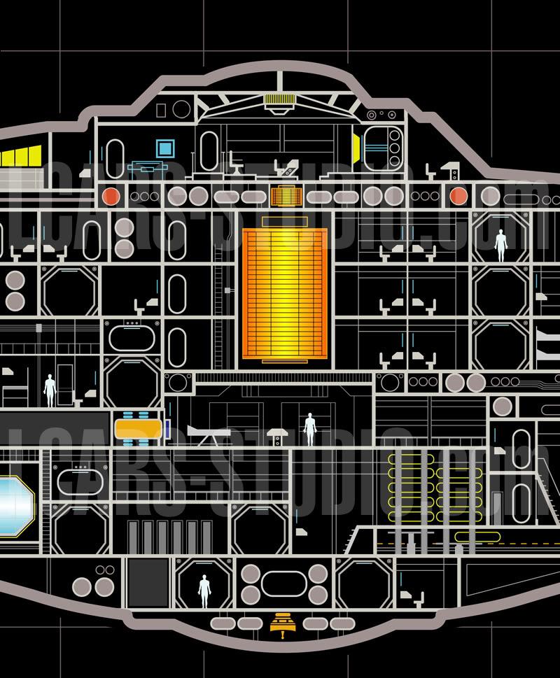 Enterprise NX-01 LCARS MSD Wip08-09-04