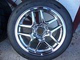 Chrome C5 Z06 wheels w. 275/40/17 Nitto DRs, plus used tires Th_P1040655