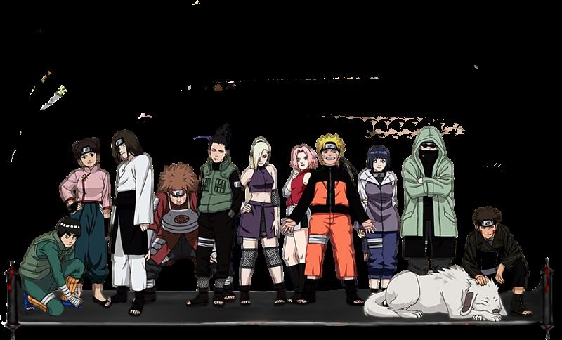 Naruto Kokuen no sensō