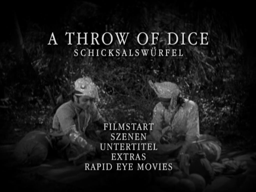 Prapancha Pash / Schicksalswürfel / A Throw of Dice (1929) AToD-REM-MenuMain