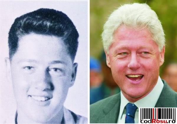 Politicieni in splendoarea tineretii Bill-clinton