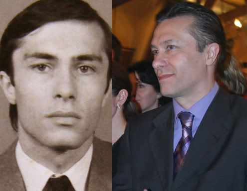 Politicieni in splendoarea tineretii Diaconescu