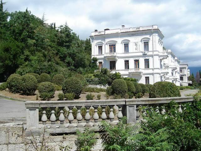 Los palacios de los Romanovs Livadia2Bpalacio