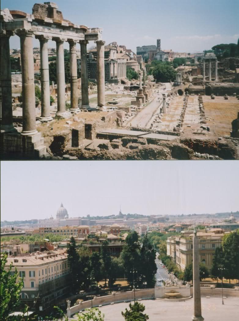 around the world Roma-ForumulRoman
