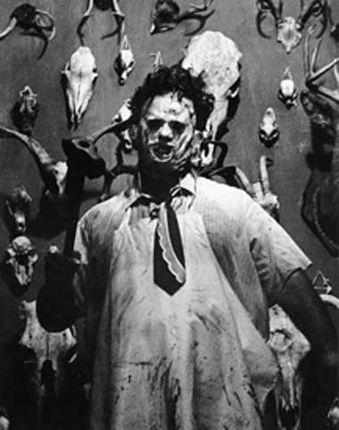 ASESINOS , PSICOPATAS Y MONSTRUOS DEL CINE Leatherface