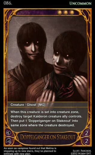 Card of the Day - 17 March '12 DoppelgangeronStakeoutfull