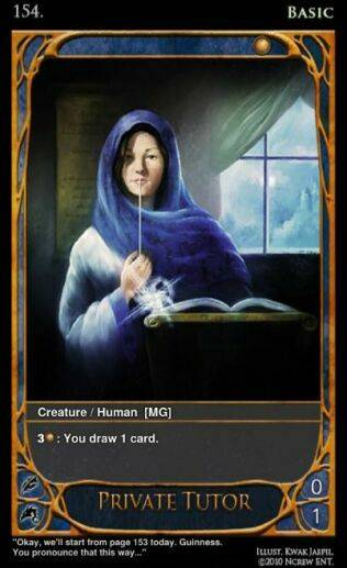 Card of the Day - 18 March '12 PrivateTutorfull