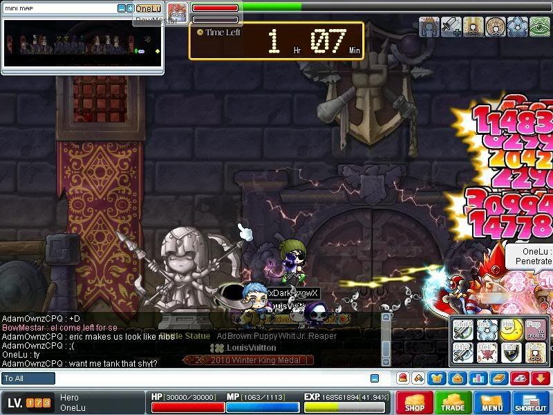 Screenshots of CWKPQ. Maple0018-3