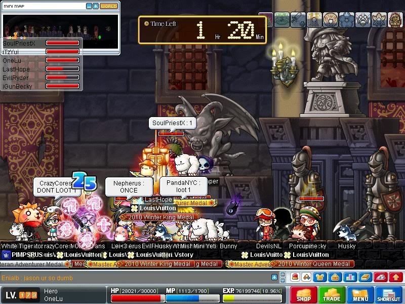 Screenshots of CWKPQ. Maple0030-2