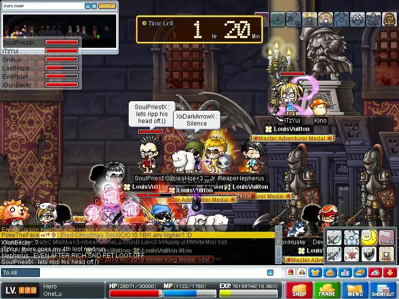 Screenshots of CWKPQ. Maple0032-2