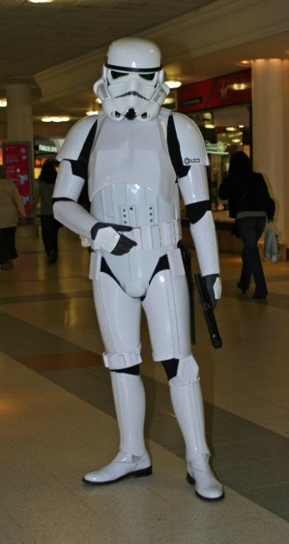 Your own personal stormtrooper evolution! IMG_0969