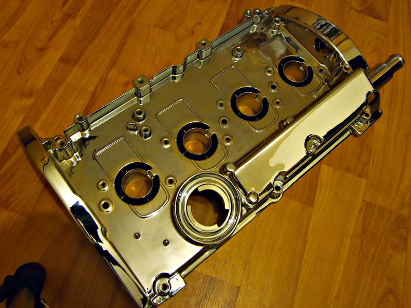 1.8T Chrome Rocker Cover Rc1