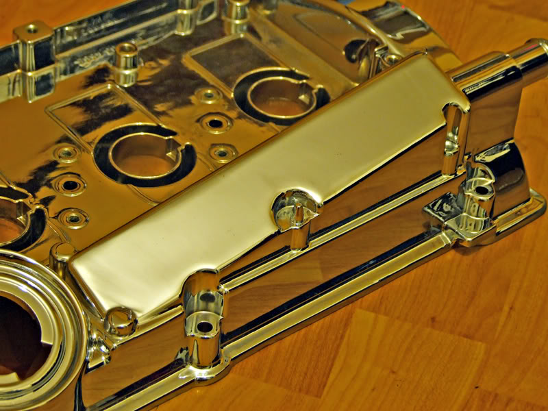 1.8T Chrome Rocker Cover Rc3