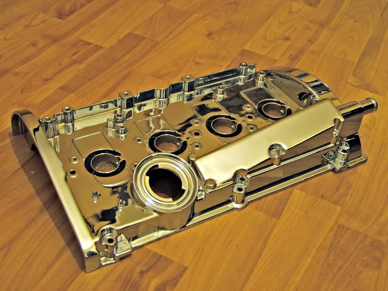 1.8T Chrome Rocker Cover Rc4