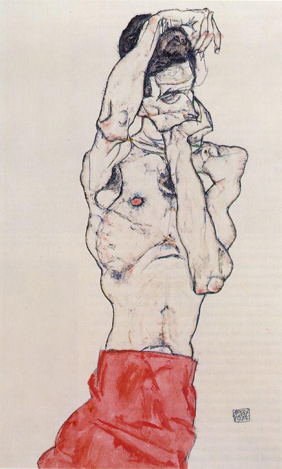 [Art] Peintures & autres oeuvres picturales Schiele_loincloth