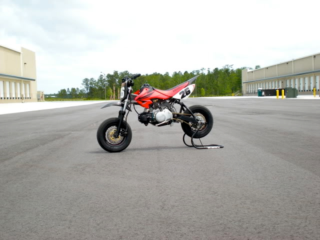 FOR SALE BMS 125cc Mini Motard Race Bike DSCN1013