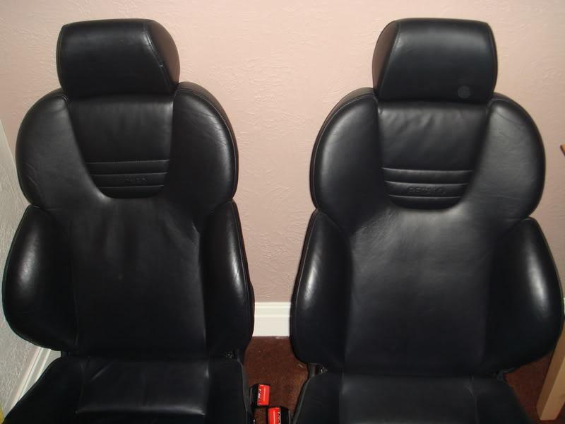 Audi S3 Black Nappa Leather Seats - Electric & Heated DSC01428
