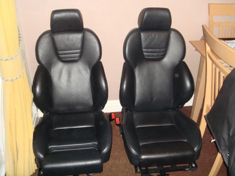 Audi S3 Black Nappa Leather Seats - Electric & Heated DSC01430