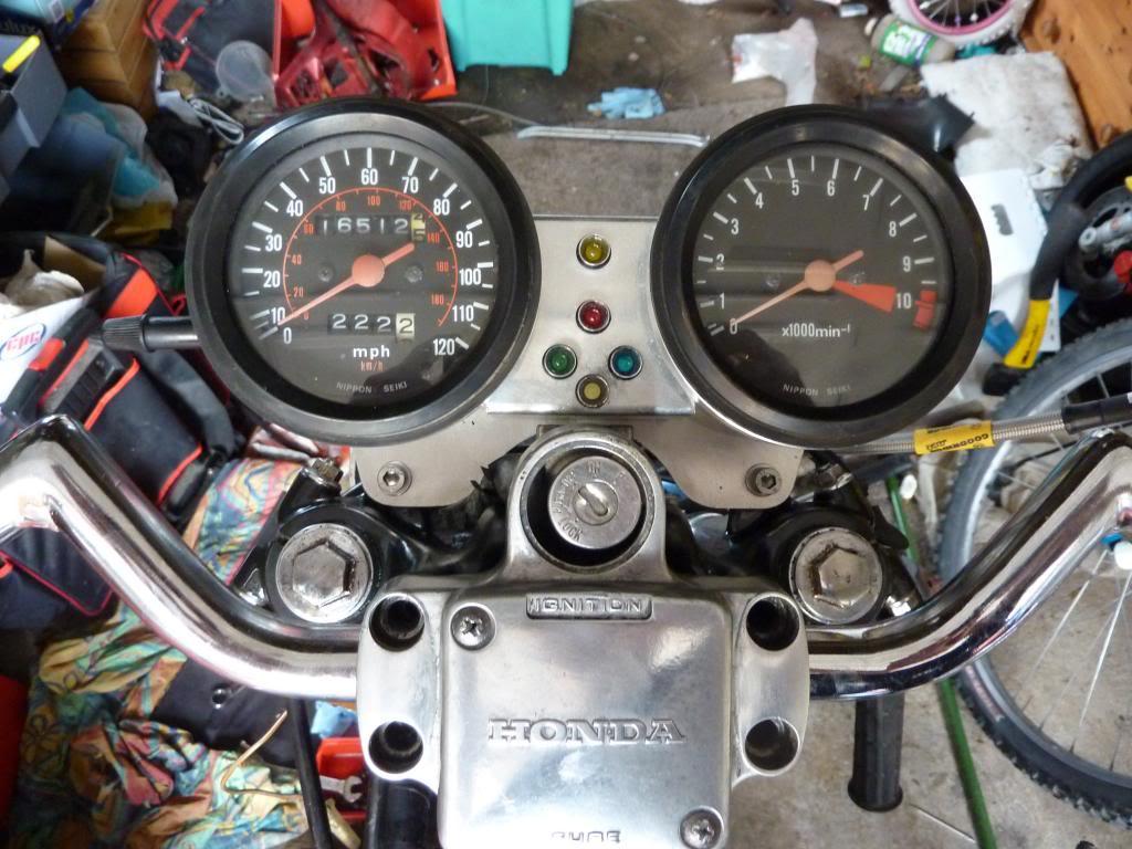 Honda CX 500 1st Café Racer Build P1060677