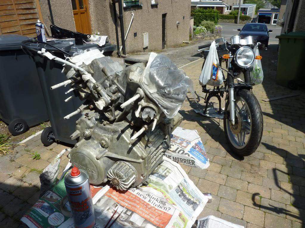 Honda CX 500 1st Café Racer Build P1070150