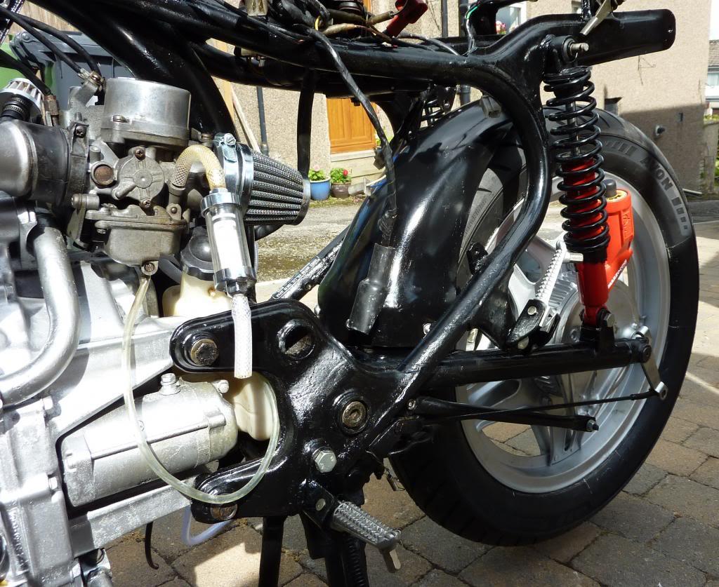 Honda CX 500 1st Café Racer Build P1070429