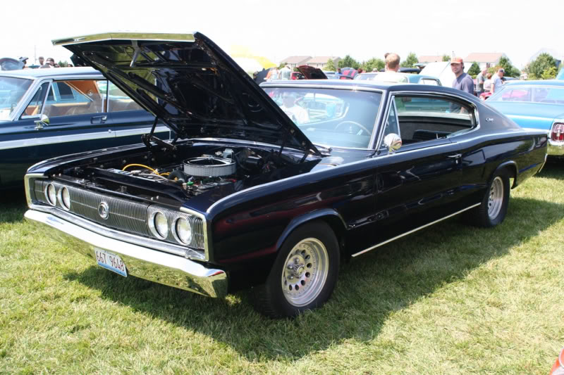 LITH Car Show 8/2/2009 OldSchoolCharger_1