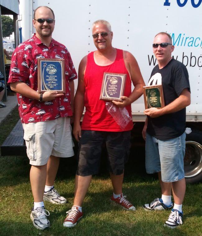 Belvidere Mopar Happening Winners! 20110717Belvidere
