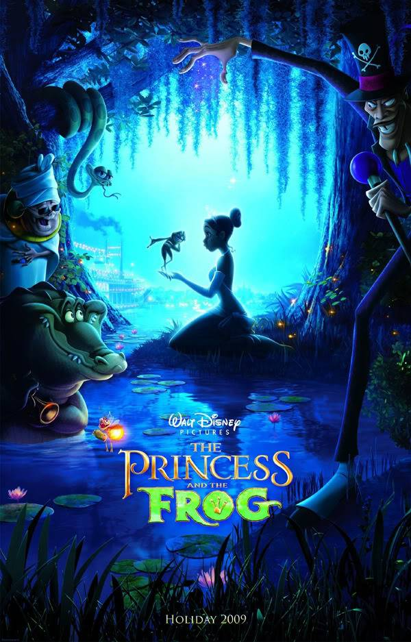 THE PRINCESS AND THE FROG - 2009 - Princess--the-frog_teaser-poster-1