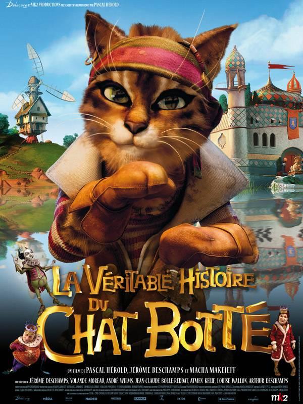 LA VERITABLE HISTOIRE DU CHAT BOTTE - avril 2009 - Affiche