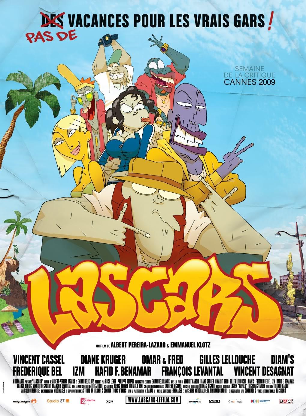 [Millimages et Studio 37] Lascars (17 juin 2009) Lascars_affiche