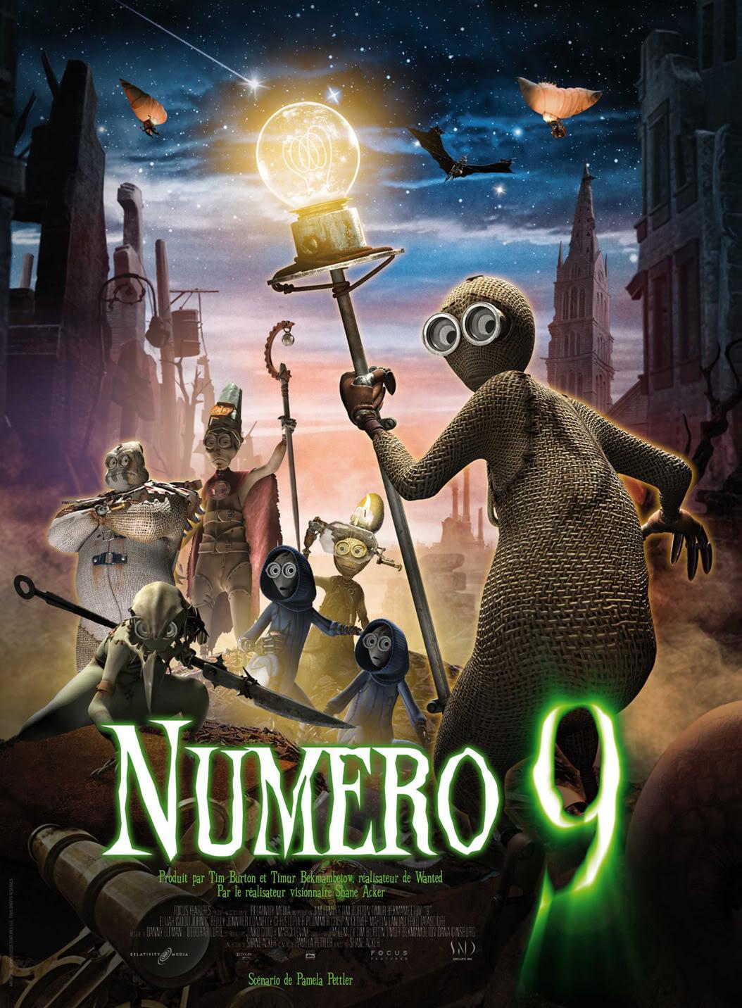 [Focus Features] Numéro 9 (2009) Numero9affichefinalefrmini