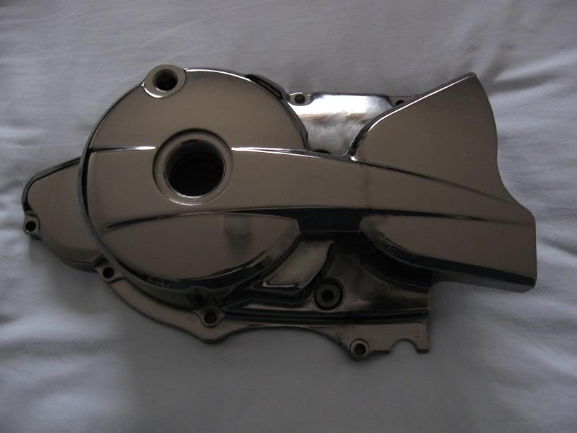 Тюнинг левой крышки картера на Zongshen LZX 200 S  StLouisCrankcaseCover725