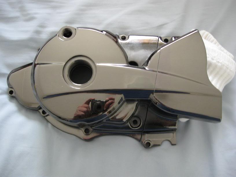 Тюнинг левой крышки картера на Zongshen LZX 200 S  StLouisCrankcaseCover734