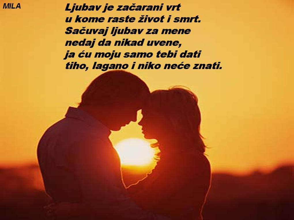 Poezija u slikama Ljubavje