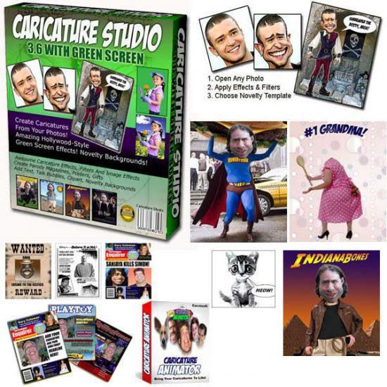Caricature Studio Green 3.60 الإحترافي في التلاعب بالصور 95599_s___caricature_studio_green_s