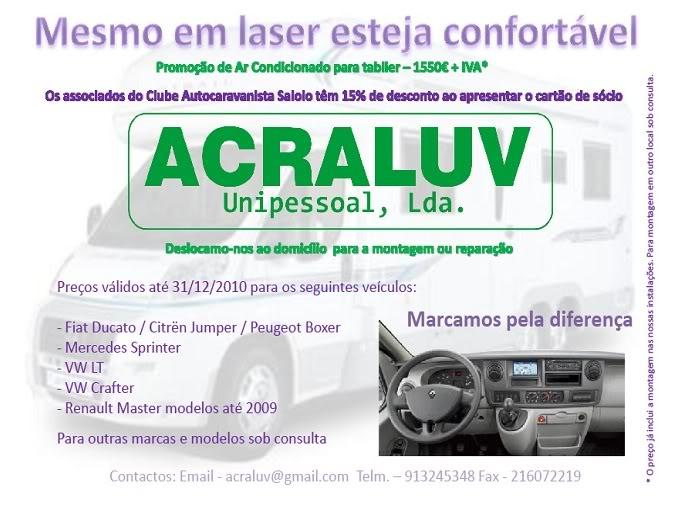 ACRALUV - Produtos para Autocaravanas Acraluv