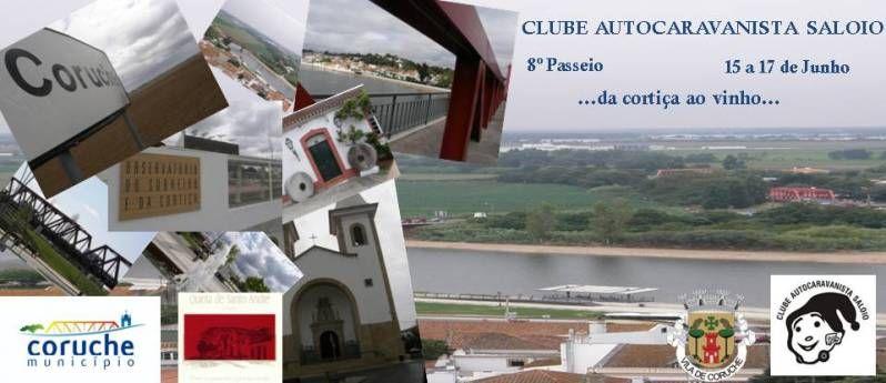 8º Passeio CAS - 15 a 17 de Junho - Coruche Cartaz
